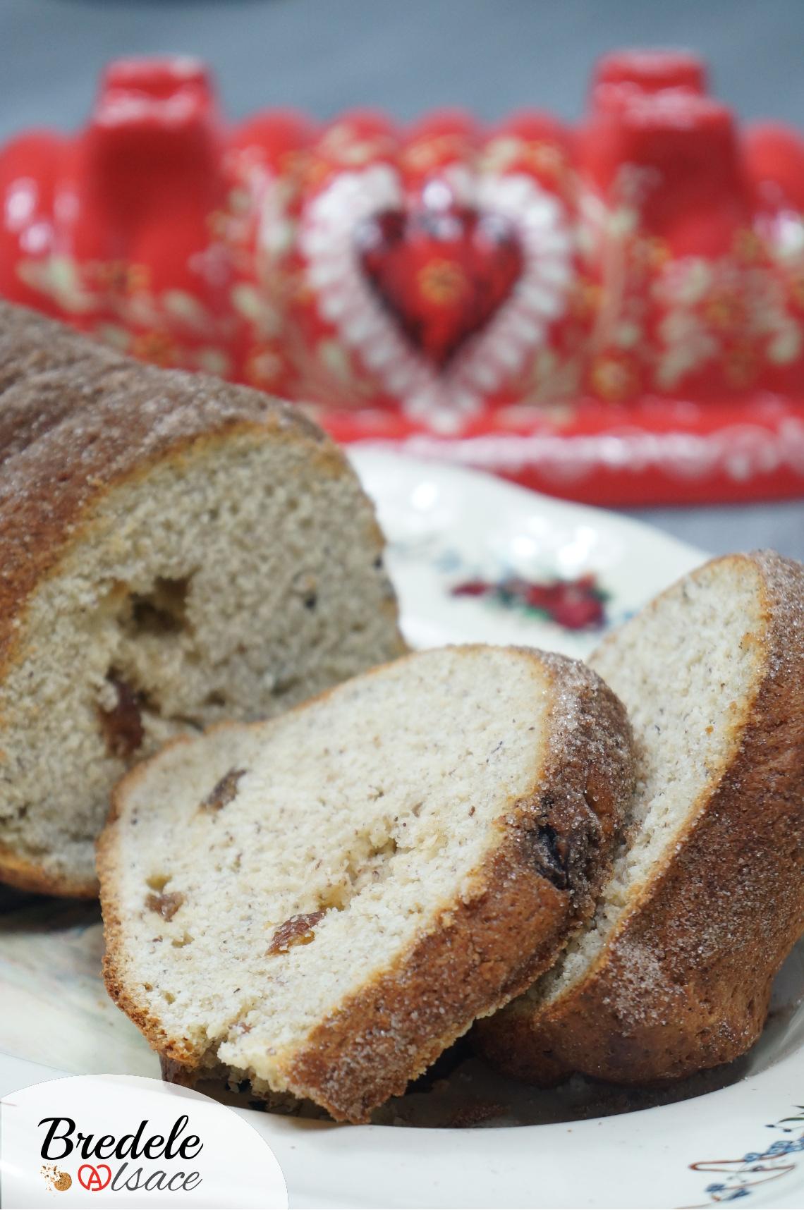 Langhopf brioche traditionnelle alsace bredele alsace - Alsace cuisine traditionnelle ...