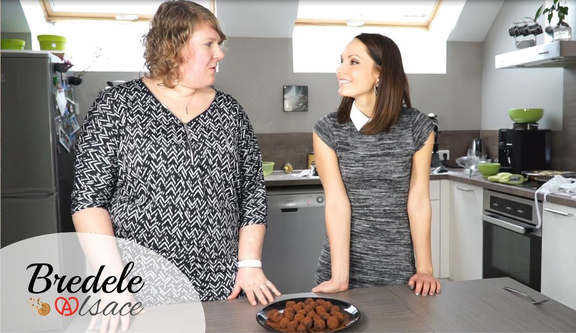 Recette de Noël : les truffes au chocolat