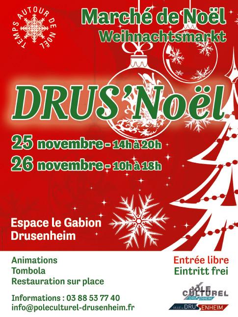 DRUS'Noël – Marché de Noël à Drusenheim