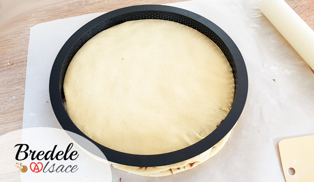 Brioche étoilée à la pâte à  tartiner