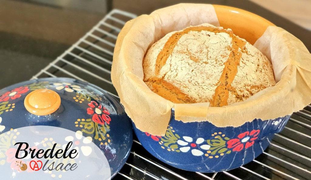 Pain Seigle et Graines cuisson cocotte