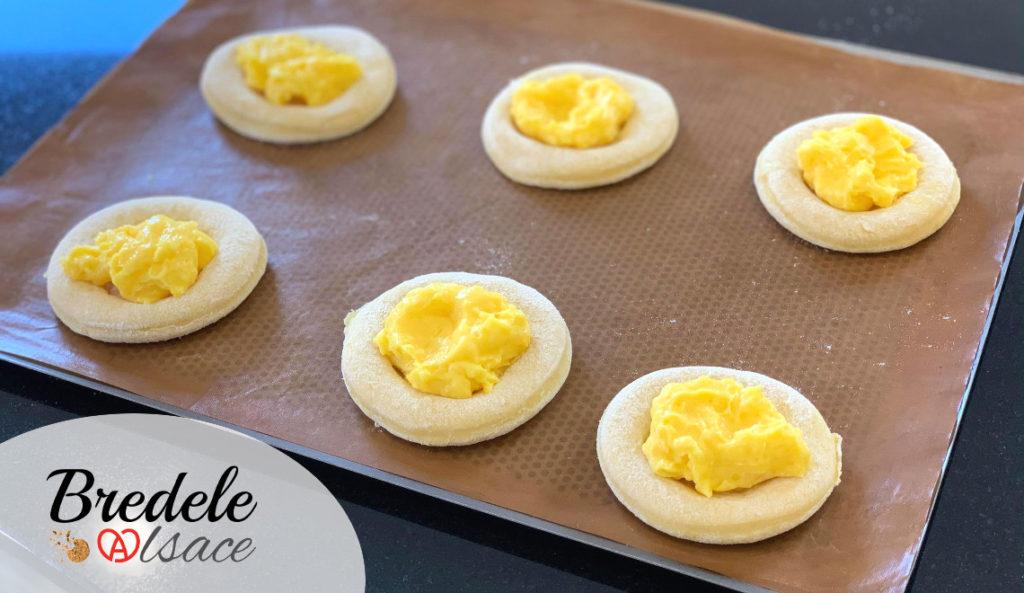 Briochettes Crème Pâtissière